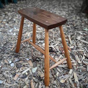 מיני ספסל גבוה - חיים חן מלאכת עץ